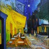 night cafe (oil on canvas)