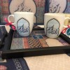 Tray and Mugs Created By  Posted By Cosy Corner