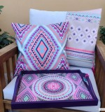 Aztec Tray Created By  Posted By Cosy Corner