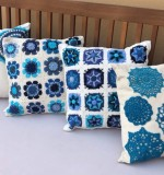 Crochet Cushions Created By  Posted By Cosy Corner