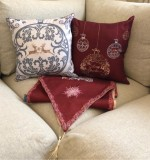 Christmas Cushions Created By  Posted By Cosy Corner