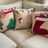 Embroidered Cushions Created By  Posted By Cosy Corner