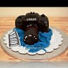 Qatar Collections Canon Camera Cake