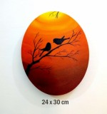 Two Birds Silhouette Created By Ramya Aravindan Posted By Ramya