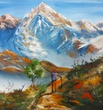 Mountain Trek Created By Ramya Aravindan Posted By Ramya