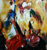 Abstract Painting Created By Ramya Aravindan Posted By Ramya