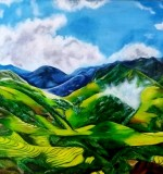 Mountain Greenery Created By Ramya Aravindan Posted By Ramya