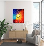 Colorful Abstract Tree Created By Ramya Aravindan Posted By Ramya