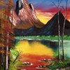 Sunset40*50 Created By Nijam Mohamed Posted By mohamed artist
