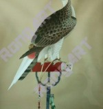 Eagle_Hand-embroidery artwork Created By  Posted By Rongyu