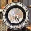 Mother of Pearl Wall Clock Created By Rodhat Al Fars Posted By Souvenir