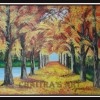 Autumn  - On Canvas - 60 cm X 70 cm Created By Artist Posted By Chaitra Somanath