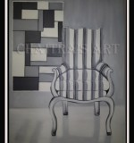 Charming Chair Created By Artist Posted By Chaitra Somanath