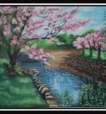 Cherry Blossom Created By Artist Posted By Chaitra Somanath