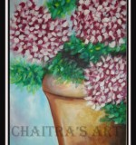 Flower vase Created By Artist Posted By Chaitra Somanath