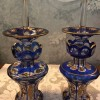 antique pair perfume bottles Created By Bohemian Glass Posted By Old Antiques