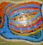Fish Design Mosaic Created By  Posted By Mosaic Artist Amneh baagour