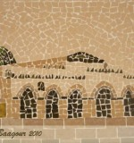 Architectural Mosaic Created By  Posted By Mosaic Artist Amneh baagour
