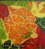 Colourful Flower Mosaic Created By  Posted By Mosaic Artist Amneh baagour