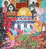 Amneh Baagour Mosaic Created By  Posted By Mosaic Artist Amneh baagour