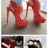 studded shoes Created By  Posted By Aisha Fashion World