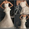 peplum lace wedding gown Created By  Posted By Aisha Fashion World