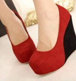 Block Wedges Created By  Posted By Aisha Fashion World