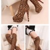 Thigh Height Brown Boots Created By  Posted By Aisha Fashion World