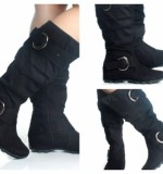 Flat Knee High Boots Created By  Posted By Aisha Fashion World
