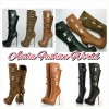 Brand new knee high boots Created By  Posted By Aisha Fashion World