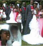 Custom Made Wedding Gown Created By  Posted By Aisha Fashion World