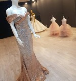 Custom Made Sequin Sparkly Party Dress Created By Aisha Fashion World Posted By Aisha Fashion World