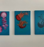 Jellyfish Set (3 pieces) Created By BUKET ATABEK MELIS Posted By Buket Atabek Melis
