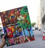 Painting the streets Created By Artist Samantha Posted By Samantha Viswas