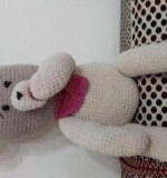Baby pacifier bear Created By Aesthetic crochet Posted By Aesthetic Crochet