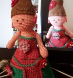 crochet toy 3# organiser doll Created By Aesthetic crochet Posted By Aesthetic Crochet