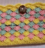 crochet mobile pouch Created By Aesthetic crochet Posted By Aesthetic Crochet