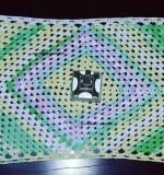 table runner Created By Aesthetic crochet Posted By Aesthetic Crochet