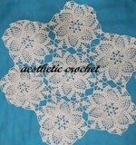 hand made doliy Created By Aesthetic crochet Posted By Aesthetic Crochet