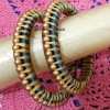 bangles Created By Aesthetic silk thread works Posted By Aesthetic Crochet