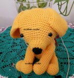 crochet puppy Created By Aesthetic crochet Posted By Aesthetic Crochet