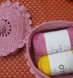 crochet basket with lid Created By Aesthetic crochet Posted By Aesthetic Crochet