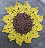 floral coasters Created By Aesthetic crochet Posted By Aesthetic Crochet