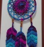 Crochet dream catcher Created By Aesthetic crochet Posted By Aesthetic Crochet