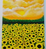 Happy Field Created By Dane Sebolino-Penaranda Posted By Dane Art Gallery