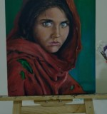Afghan Girl , my interpretation Created By Salgado Posted By Salgado Goonaratne