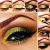 Green Eye Makeup Created By Sara Posted By Qatar Accessories 2222