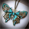 Butterfly Necklace Created By Sara Posted By Qatar Accessories 2222