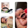 Moustache Baby Pacifier Created By Doha Shop Posted By Doha_Shop