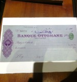 Ottoman Cheque Created By Turkey Posted By Arabsilo